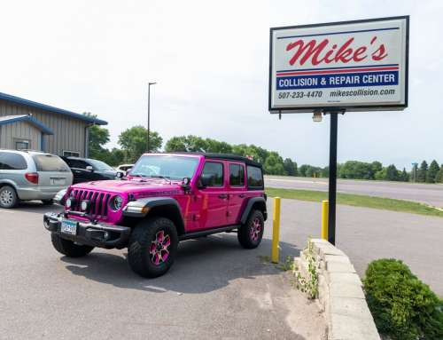 Hot Pink Jeep Rubicon – Paint